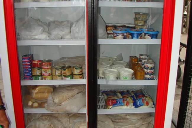 براد خيري لتوزيع الطعام للمحتاجين في مدينة جرمانا