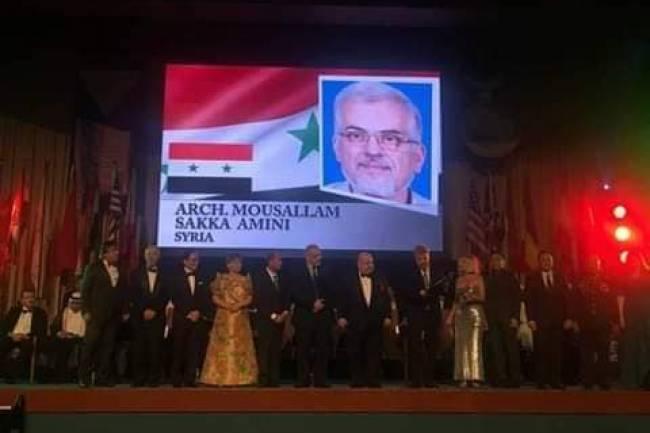 بعد 3 سنوات .. خبر فوز مهندس سوري بجائزة نوبل الآسيوية في الهندسة المعمارية يتصدر وسائل الإعلام