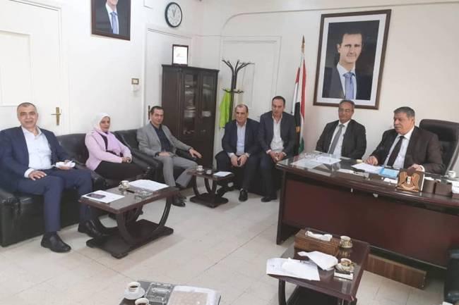 لجنة دعم العملية الإنتاجية بريف دمشقتوصي باعتبار دمشق وريفها مركزاً واحداً واستثنائهما من قرار التنقل بين المحافظات