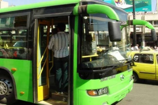 الدباس : لجنة لدراسة تعديل تعرفة باصات النقل الداخلي بدمشق