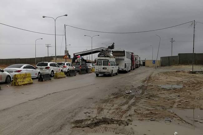 الأردن تغلق حدودها مع سورية لمدة اسبوع بسبب كورونا