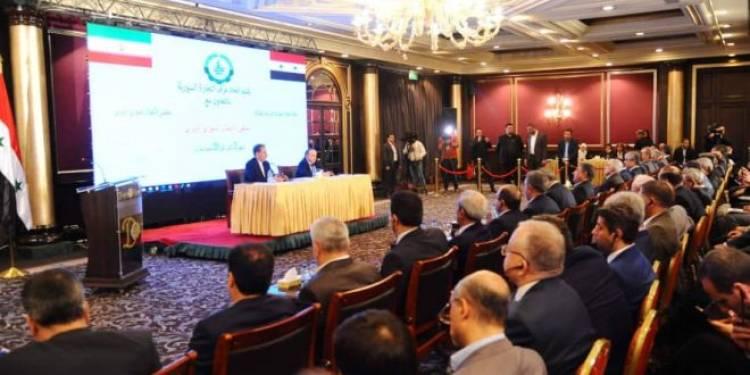 الملتقى الاقتصادي الإيراني السوري الأول يقام الأربعاء المقبل