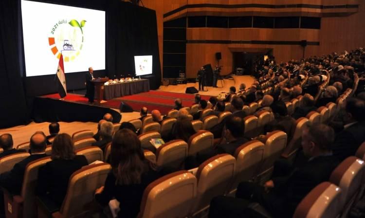 ملتقى التطوير الزراعي يبحث مشاكل الزراعة في سورية وسبل النهوض بها